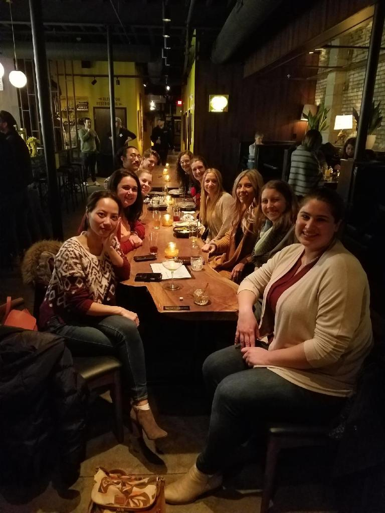 Pre-holiday get together with sour beers and Indian food, Dec 2018