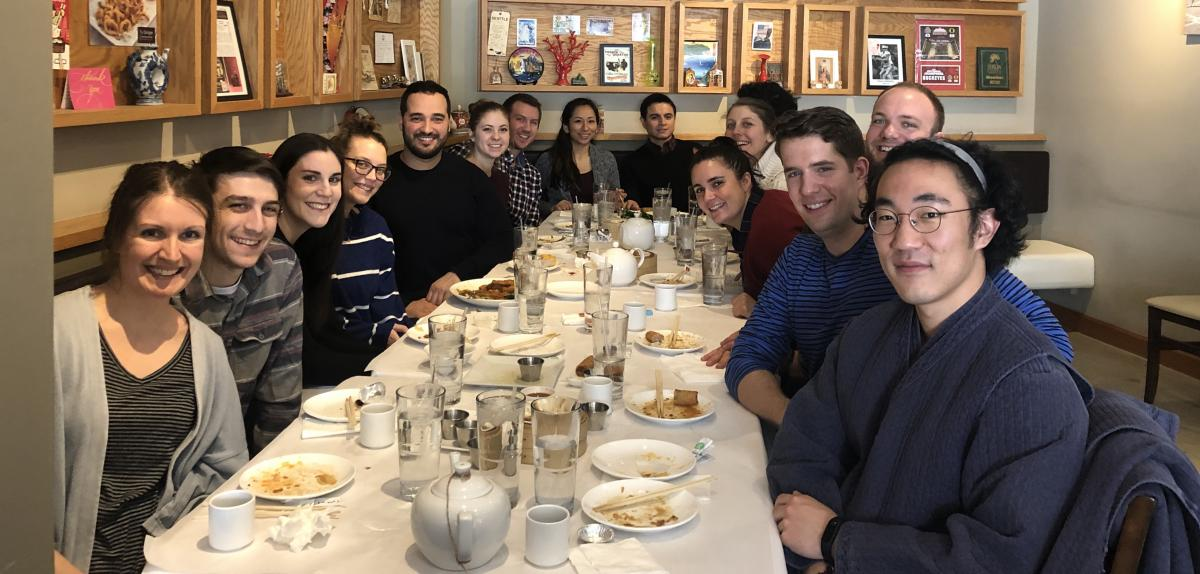 Celebrating Lunar New Year Feb 2019 with dumplings and the Kopec lab & affiliates