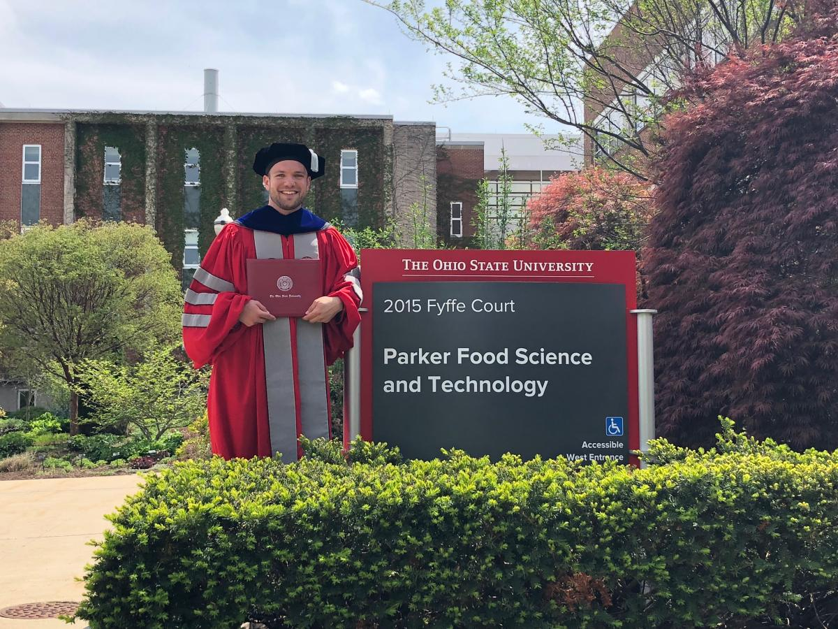 Matt Teegarden becomes Dr. Matt Teegarden, May 2018